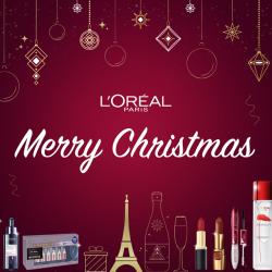 免費換領 L'Oréal Paris 聖誕禮物