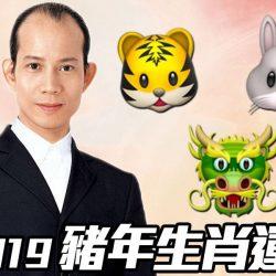 【#生活話題】蘇民峰2019|豬年生肖運程(虎、兔、龍篇)