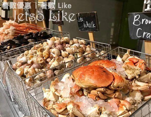 萬麗咖啡室 海鮮盛宴自助餐 萬豪旅享家會員 7折