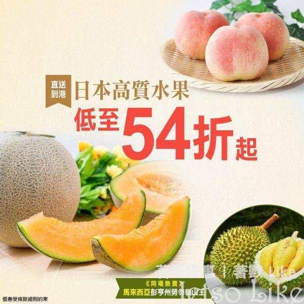 永安旅遊 日本直送 熊本/靜岡青肉蜜瓜 低至54折起